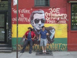 Joe Strummer Tribute, 7th and Ave. A.