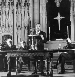 MLK at Riverside Church (1967).