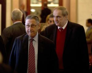 Pictured with Vito Lopez. Courtesy of the NY Daily News.