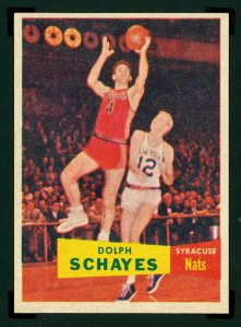 Dolph Schayes New Yorker