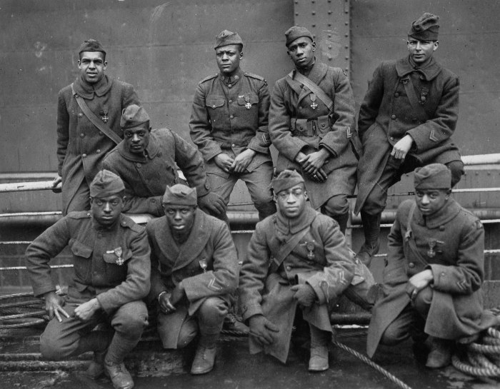 The Harlem Hellfighters.