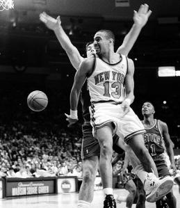 Jackson was Rookie of the Year for the Knicks in '88.