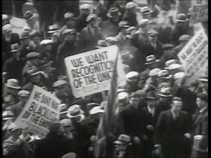 taxi drivers strike new york 1934