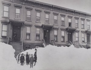 Great Blizzard of 1888 Brooklyn
