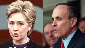 Hillary v. Rudy in 2000 Senate