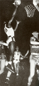 Robinson scoring for UCLA basketball.