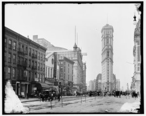Times Square in 1905. Photo from Untapped Cities.