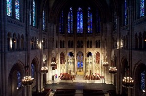 Riverside Church interior. Photo by MorningsideHeights.net.