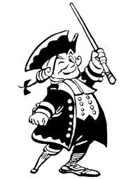 Stuyvesant as Collegiate Dutchmen mascot.