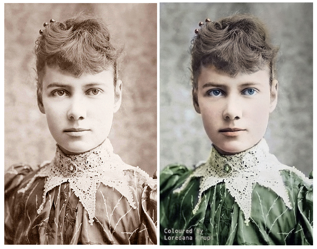nellie bly paper Nellie bly elizabeth cochrane was born in cochran mills, allegheny county, pennsylvania, on 5th may, 1867 that of the united states but it is only on paper.