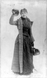 Bly in 1889, rocking the outfit she wore around the world.
