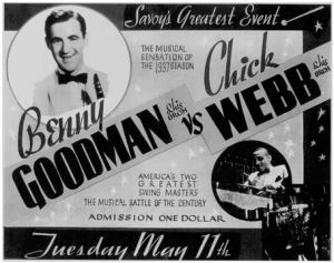 You could have seen this battle for a dollar! (Image courtesy of Harlem Swing Dance Society. )