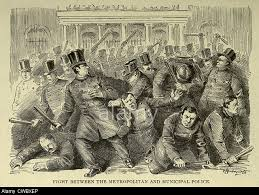New York City Police Riot 1857